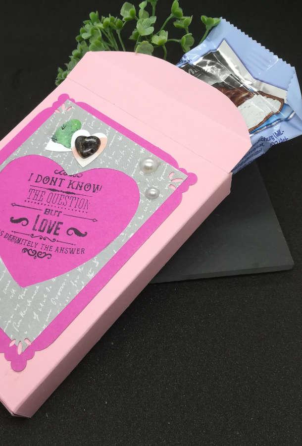 DIY Geschenkverpackung zum Valentinstag